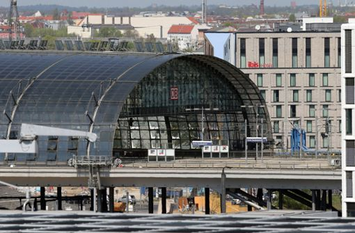 Die Bombe war nahe dem Berliner Hauptbahnhof entdeckt worden. Foto: dpa