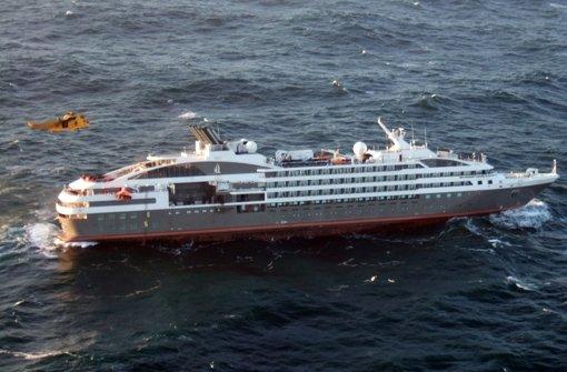 347 Passagiere  gerettet