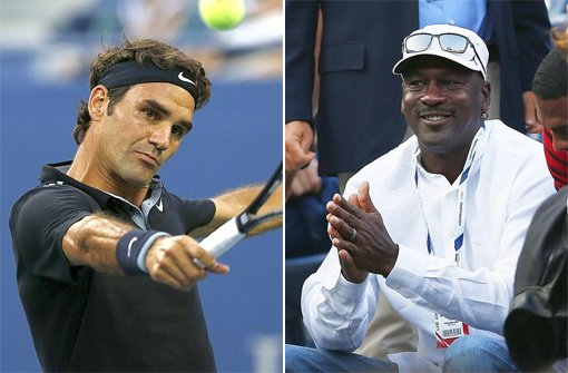 Jordan feuert Federer an