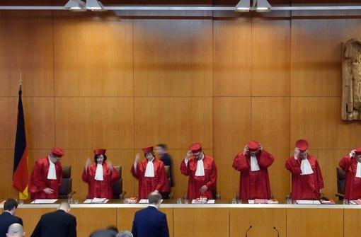 Verfassungsgericht pocht auf Beweise