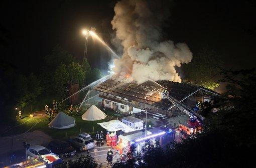 Brand in Gästehaus fordert sechs Tote