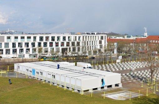 Neues Containerdorf auf dem Killesberg