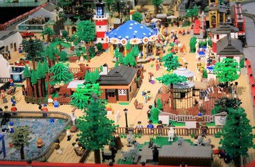 Die Lego-Ausstellung im Ludwigsburger Schloss ist ein Publikumsmagnet. Foto: privat