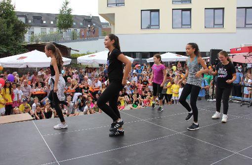Beim diesjährigen Bürgerfest gab es auch Tanzeinlagen zu bestaunen. Foto: Georg Friedel
