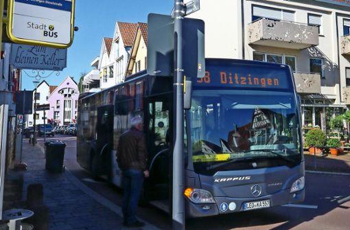 Stadtbus fährt auch am Samstagabend