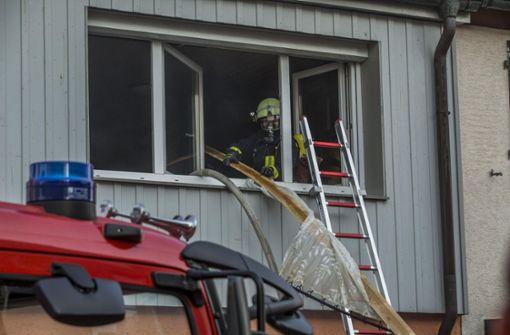 Hoher Schaden bei Kellerbrand