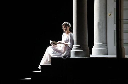 Anja Harteros als Maddalena di Coigny. Foto: Patricia Sigerist