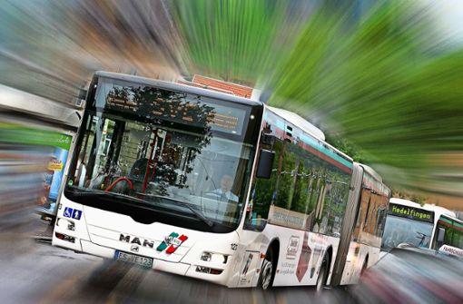 Busfahren in Esslingen ist aktuell gelegentlich ein großes Abenteuer. Foto: Horst Rudel/Archiv