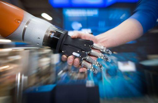 Ein schwäbische Roboter ist besonders feinfühlig