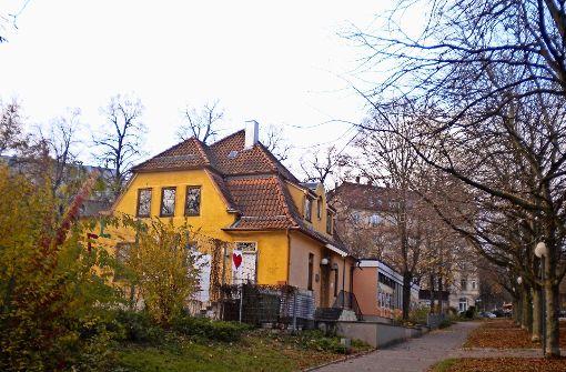 Noch nicht berücksichtigt: die Villa Elisa inmitten der Elisabethenanlage. Foto: Archiv