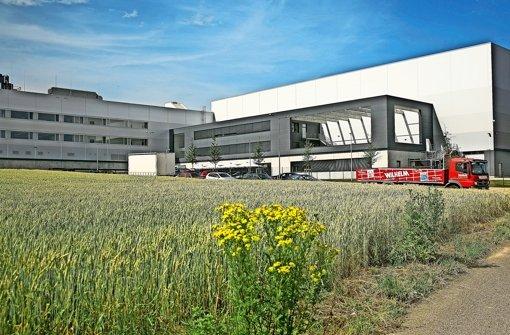 Das neue Distributionszentrum von Boss in Filderstadt-Bonlanden direkt an der B 27 wurde in nur 15 Monaten errichtet Foto: Horst Rudel