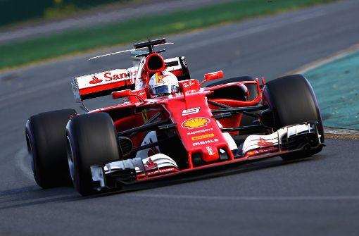 Vettel sichert sich ersten Platz beim Formel-1-Auftakt