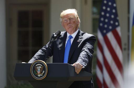 Trump bekennt sich erstmals zur Beistandspflicht der Nato