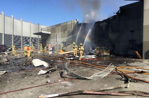 Fünf Tote nach Flugzeugabsturz in Melbourne
