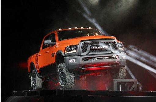 Neben Toyota präsentiert auch der amerikanische Autobauer  Ram mit dem Rebel einen neuen Pick-up. Foto: dpa