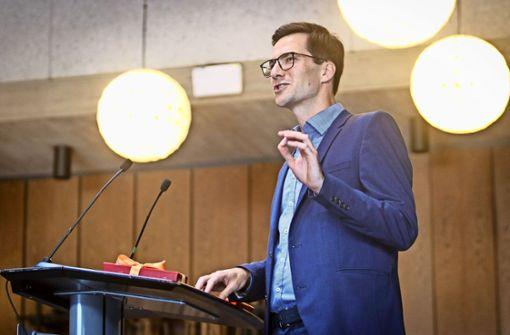 Sensationssieger Martin Horn in Sindelfingen verabschiedet