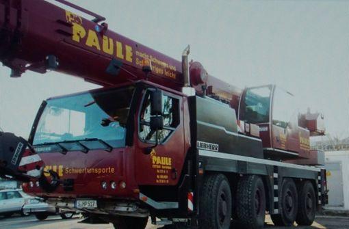 Wie kommt ein 48-Tonnen-Kran unbemerkt nach Ägypten?