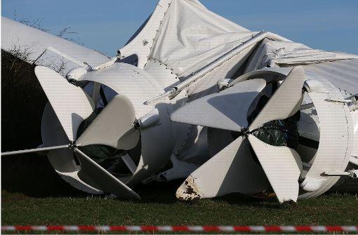 Größtes Luftschiff der Welt stürzt nach Unfall zu Boden