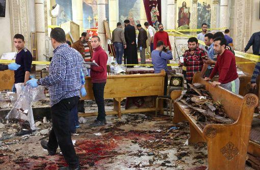 Viele Tote: Terrormiliz IS reklamiert Bombenanschläge auf ägyptische Kirchen für sich