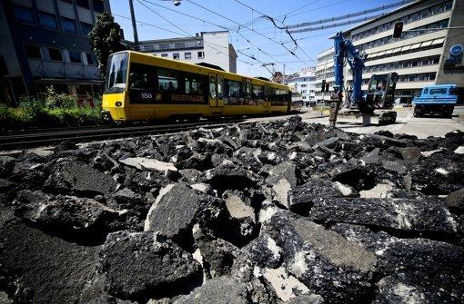 Olgaeck wird 2014 erneut zur Baustelle