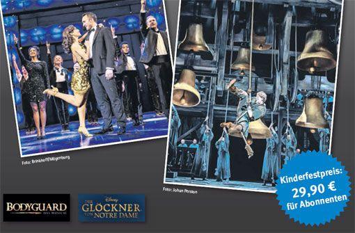 Die Stage Musicals zum Festpreis.