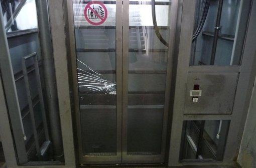 Zerstörungswut am Leonberger Bahnhof