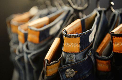Die gesamte Modebranche steht unter Druck. Das geht auch an Hugo Boss nicht spurlos vorbei. Foto: dpa