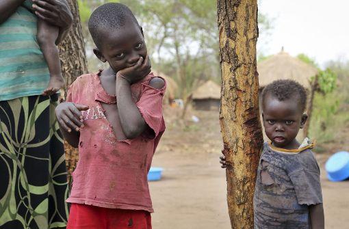 Deutschland hat 100 Millionen Euro zusätzlich für Hungernde in Ostafrika zugesagt. Zu den Leidtragenden gehören vor allem Kinder. Foto: AP