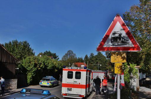 Radfahrer von Zug erfasst und getötet