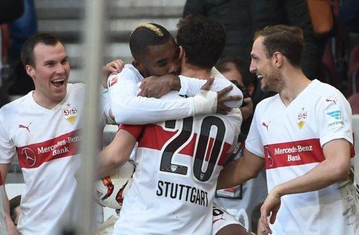 VfB-Profis Großkreutz, Die, Gentner, Niedermeier (v.li.): Was geht noch? Foto: dpa