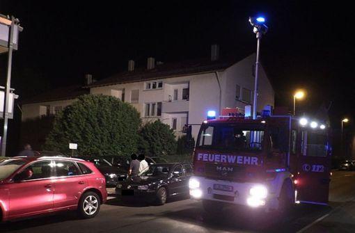 Die Feuerwehr kann zwar die Tür zu der Wohnung öffnen ... Foto: Feuerwehr Ditzingen