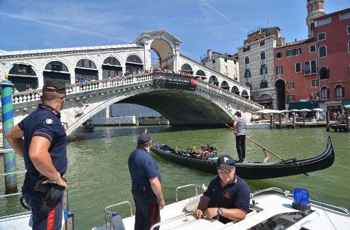 Offenbar Anschlag auf Rialto-Brücke geplant