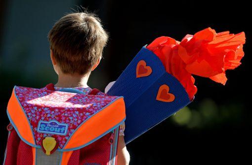 Ein Kind sollte bei der Einschulung möglichst nicht schon  einen Rückstand auf seine Klassenkameraden haben. Foto: dpa-Zentralbild