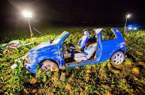 Ein Schwerverletzter bei Unfall im Kreis Ludwigsburg