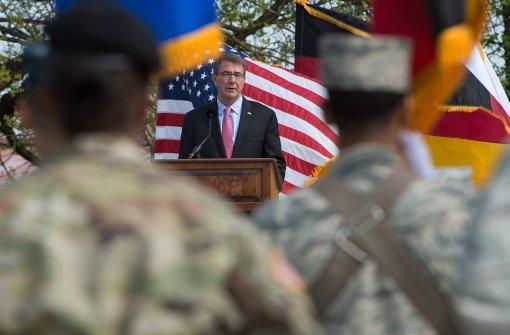 US-Minister Carter lobt deutsche Kehrtwende