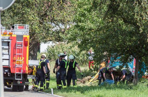 Tödlicher Unfall auf Kreisstraße