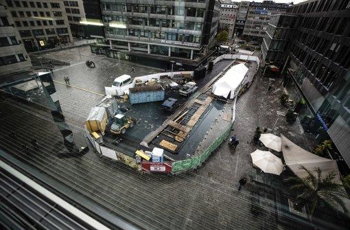 Baustelle könnte bis Weihnachten bleiben