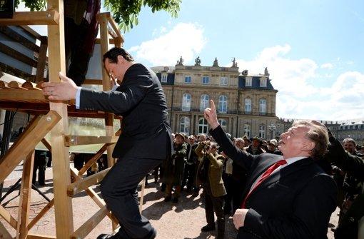 Minister Bonde bricht Kandidaten-Duell ab