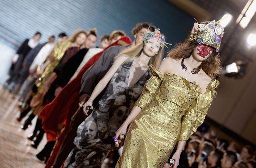Vivienne Westwood präsentiert neue Kollektion
