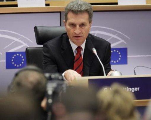 Oettinger lässt sich nicht grillen