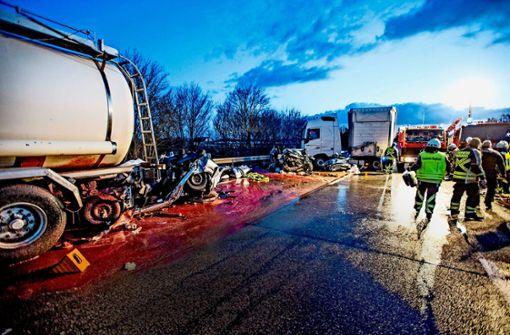Alarmierender Anstieg von Lkw-Unfällen auf Autobahnen