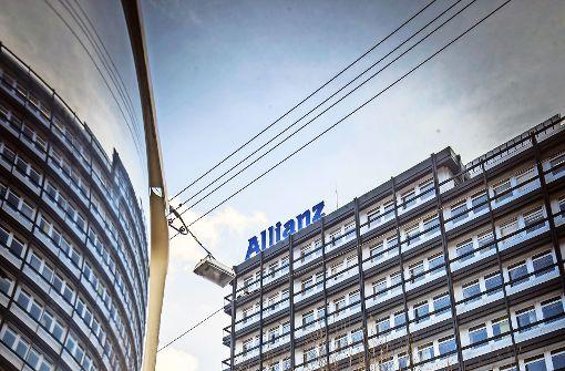 Die Allianz will  ihre Stuttgart-Zentrale aus der Stuttgarter Innenstadt (Bild oben)  nach Stuttgart-Vaihingen verlegen. Foto: Lichtgut/Achim Zweygarth