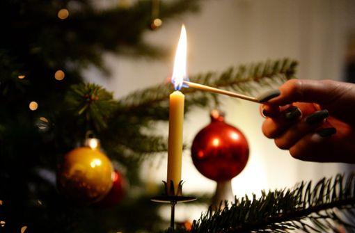 Wenn der Weihnachtsbaum weg soll