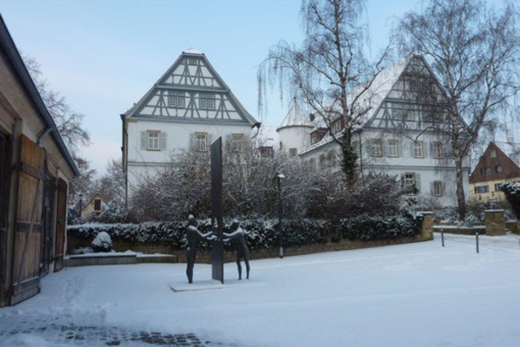 knackige k lte dichte schneepracht der winter zeigt sich in stuttgart und region von seiner. Black Bedroom Furniture Sets. Home Design Ideas