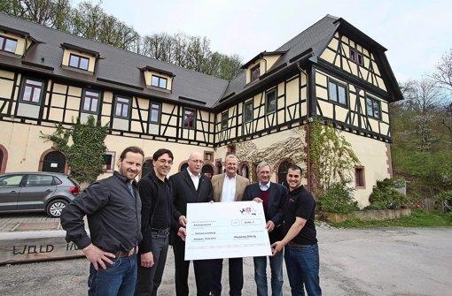 Seehaus: Eine Finanzspritze für den Wiederaufbau