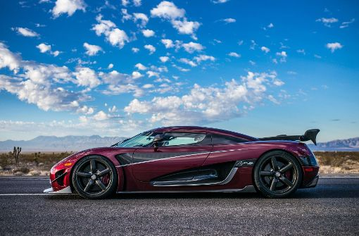 Koenigsegg Agera RS schlägt Top Speed des Bugatti Veyron