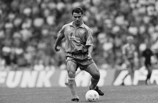 Vollmer als Spieler 1990/91 Foto:  Baumann