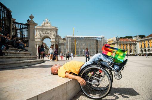 Im Rollstuhl um die Welt