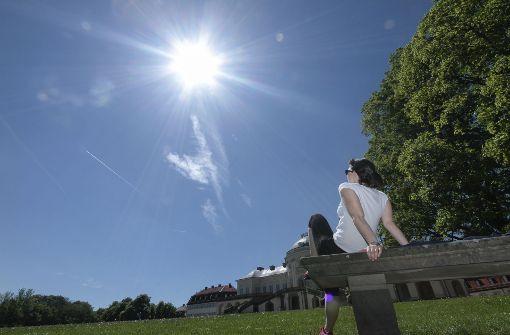 Hitze lockt Stuttgarter nach draußen