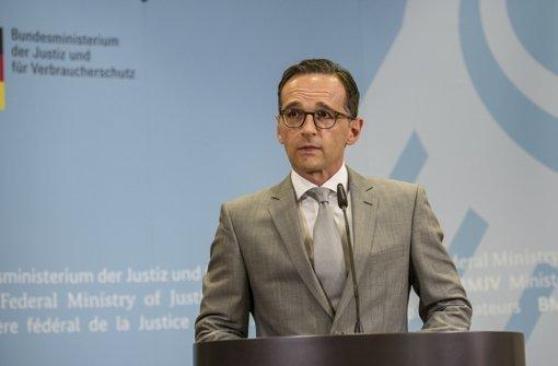 Kanzlerin steht hinter Maas' Entscheidung
